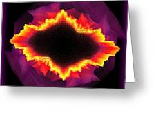 Volcanic Explosion Greeting Card