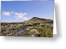 Volcanic Landscape Greeting Card
