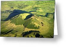 Volcanic Mound Greeting Card