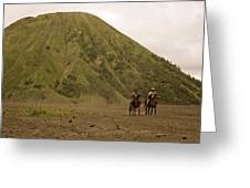 Volcanic Ryders Greeting Card