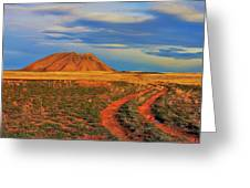 Volcano Road Greeting Card