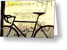 Volker Bicycles Greeting Card by Elizabeth Sullivan