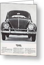 Volkswagen Beetle Greeting Card