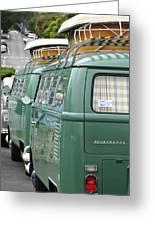Volkswagen Vw Bus Greeting Card