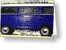 Volkswagon Microbus Greeting Card