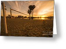 Volley Sunrise  Greeting Card