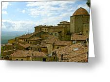 Volterra Greeting Card