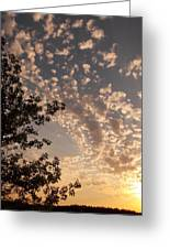 Volyn Sunset Greeting Card