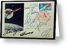 Vostok 1 Commemorative Post Greeting Card