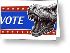 Vote - Presidential Election Poster Greeting Card