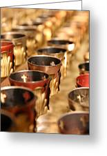 Votive Candles Greeting Card