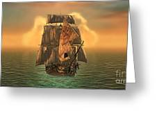 The Voyage Of The Dawn Treader Greeting Card