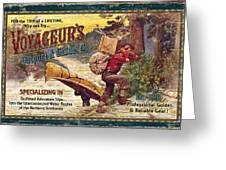 Voyageurs Outpost Greeting Card by JQ Licensing
