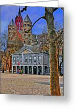 Vrijthof Square Greeting Card