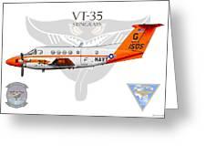 Vt-35 Stingrays Greeting Card