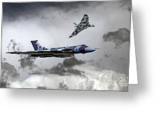 Vulcan Wingman Greeting Card