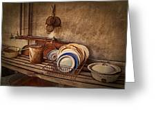 Vulture Kitchen Greeting Card