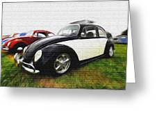 Vw Paint Greeting Card