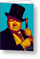 W C Fields 20130217m135 Greeting Card by Wingsdomain Art and Photography