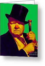 W C Fields 20130217p180 Greeting Card