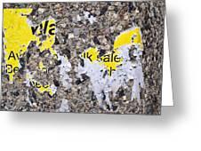 Wa Lk Sale Greeting Card