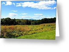 Wachusett Mountain From Tower Hill Greeting Card