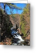 Wachusett Reservoir Spillway 2 Greeting Card