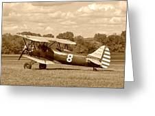 Waco Upf-7 Greeting Card