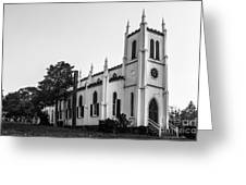Waddell Memorial Church Founded 1874 Greeting Card
