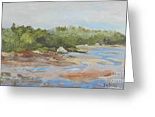 Wadsworth Cove - Elephant Rock Greeting Card