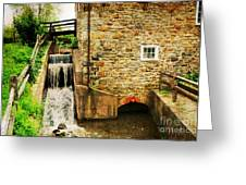Wagner Grist Mill Greeting Card