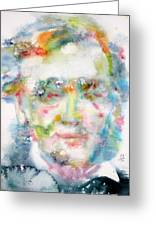 Wagner - Watercolor Portrait Greeting Card