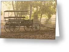 Wagon - Abe's Buggie Greeting Card