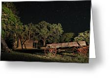 Wagon And Stars 2am 115859and115863_stacked Greeting Card