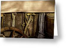Wagons West Greeting Card by Kelly Rader