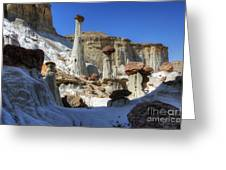 Wahweap Hoodoos Utah Greeting Card