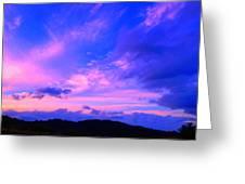 Wailua Sunset Greeting Card
