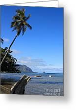 Waimanalo Beach  Greeting Card