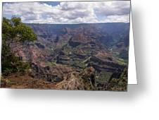 Waimea Canyon 5 - Kauai Hawaii Greeting Card