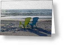 Waiting For Sunset Greeting Card