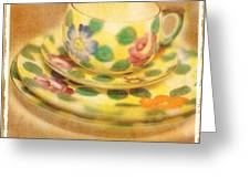 Waiting For Tea Greeting Card