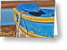 Waiting For The Tide Greeting Card
