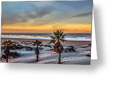 Wake Up For Sunrise In California Greeting Card