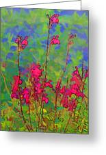 Wake Up Smell The Flowers Greeting Card