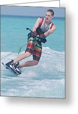 Wakeboarding Style Greeting Card