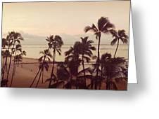 Waking Up On Waikiki Greeting Card