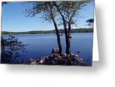 Walden Pond Saugus Ma Greeting Card