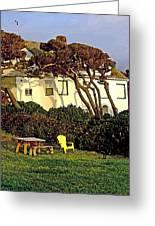 Waldport Beach House Greeting Card