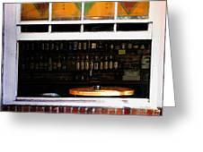 Walk By Bar Service Greeting Card