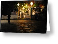 Walk In Accademia  Greeting Card